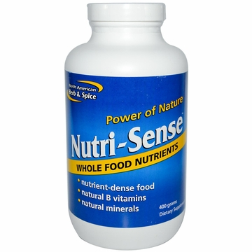 North American Herb & Spice Nutri-Sense Powder - 400 Grams