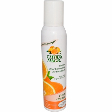 Odor Eliminating Air Freshener Tropical Orange by Citrus Magic - 3.5oz.