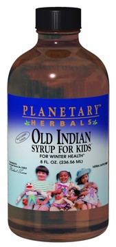 Planetary Herbals Old Indian Syrup for Kids - 8 Fluid Ounces
