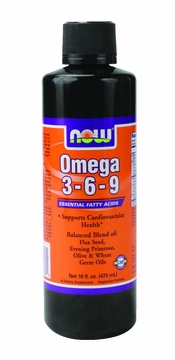 Now Foods Omega 3-6-9 - 16 Fluid Ounces