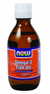 Now Foods Omega-3 Fish Oil - 7 Fluid Ounces