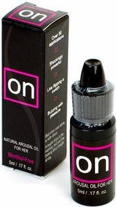 On Arousal Oil for Her by sensuva - .17 oz.