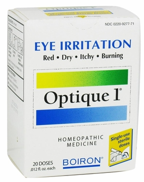 Optique 1 Eye Drops by Boiron - 20 Doses