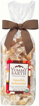 Organic Artisanal Candy Drops Hopscotch Butterscotch by Yummyearth - 6 oz.