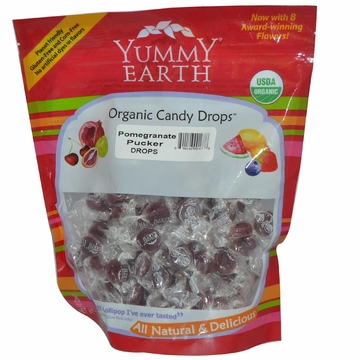 Organic Candy Drops Pomegranate Pucker by Yummyearth - 13 oz.