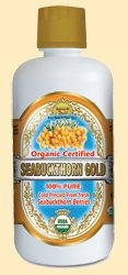Organic Certified 100% Seabuckthorn Gold by Dynamic Health Laboratories Inc. - 32 oz.