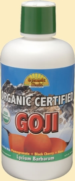 Organic Goji Juice Blend by Dynamic Health Laboratories - 33.8 oz.