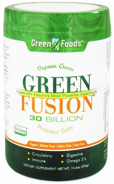 Green Foods Organic Green Fusion - 10.4 Ounces