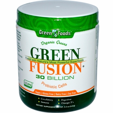 Green Foods Organic Green Fusion - 5.2 Ounces