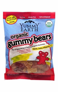 Organic Gummy Bears by Yummyearth - 5 oz. / Case of 12