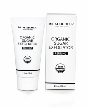 Organic Sugar Exfoliator by Mercola - 2 oz