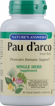 Pau D'Arco Inner Bark by Nature's Answer - 90 Vegetarian Capsules