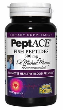 PeptACE Fish Peptides by Natural Factors - 90 Capsules