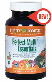 Perfect Multi Essentials with Vision Factors by Purity Products - 90 Capsules