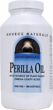 Source Naturals Perilla Oil 1000 mg - 180 Softgels