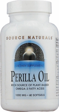 Source Naturals Perilla Oil 1000 mg - 60 Softgels