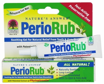 PerioRub Soothing Gel by Nature's Answer - 0.5oz.