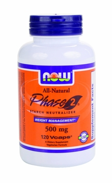 Now Foods Phase 2 500 mg - 120 Vegetarian Capsules