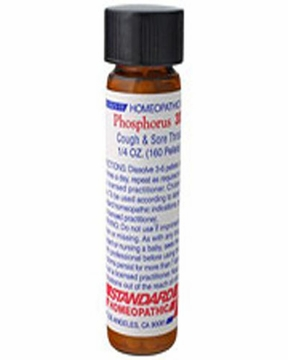 Phosphorus 30C Amber Vial by Hylands - 2 Dram Tablets