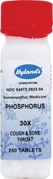 Phosphorus 30X by Hylands - 250 Tablets
