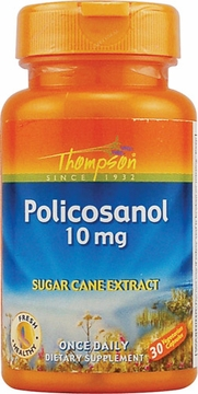Thompson Nutritional Policosanol 10 mg - 30 Vegetarian Capsules