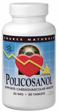 Source Naturals Policosanol 20 mg - 30 Tablets