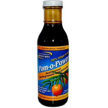 North American Herb & Spice Pom-O-Power - 12 Fluid Ounces