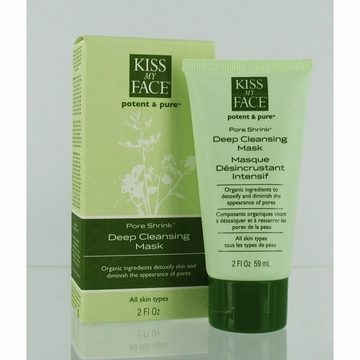 Kiss My Face Deep Pore Cleansing Mask - 2 Ounces