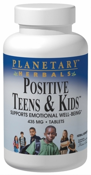 Planetary Herbals Positive Teens & Kids 435 mg - 60 Tablets