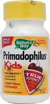 Primadophilus Kids Cherry Flavor by Nature's Way - 30 Chewable Tablets