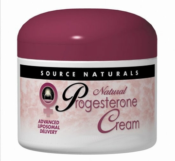 Source Naturals Progesterone Cream Jar - 4 Ounces