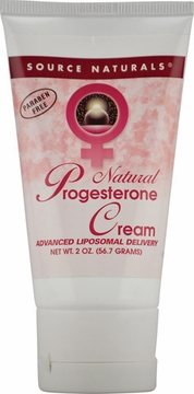 Source Naturals Progesterone Cream Tube  - 2 Ounces