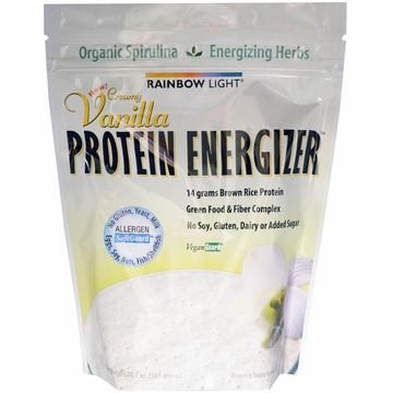 Rainbow Light Creamy Vanilla Protein Energizer Powder - 10.7 Ounces