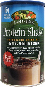 Protein Shake Chocolate by Garden Greens - 15 oz.