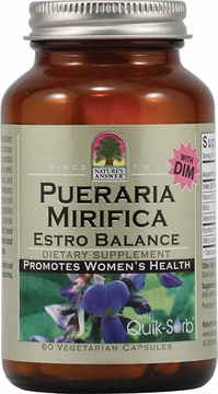Pueraria Mirifica Estro Balance by Nature's Answer - 60 Vegetarian Capsules