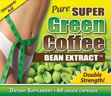 Pure Super Green Coffee Bean Extract 800 mg by MaritzMayer Laboratories - 60 Veggie Capsules