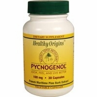 Pycnogenol 100mg by Healthy Origins - 30 Vegetable Capsules
