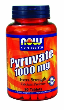 Now Foods Pyruvate 1000 mg - 90 Tablets