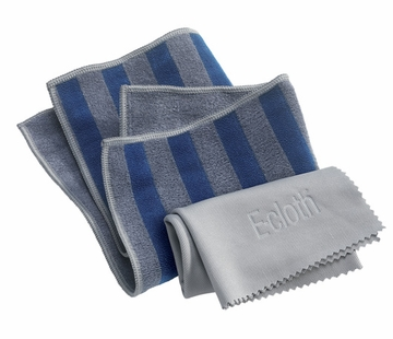 Range & Stovetop Pack by E-Cloth - 1 Pack of 2 Cloths