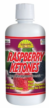 Raspberry Ketones Juice Blend Weight Management Formula by Dynamic Health Laboratories - 32 oz
