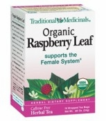 Raspberry Leaf Tea By Traditional Medicinals - 16 Bags