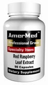 Red Raspberry Leaf Extract by Amermed - 120 Capsules