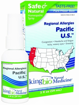 Regional Allergies Hawaii by King Bio - 2oz.