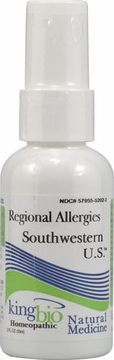 Regional Allergies MX/SW US by King Bio - 2oz.