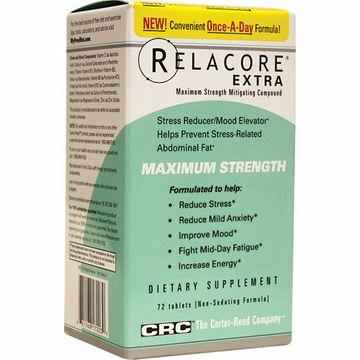 Relacore Extra by Carter-Reed Company - 72 Tablets