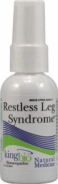 Restless Leg Syndrome by King Bio - 2oz.