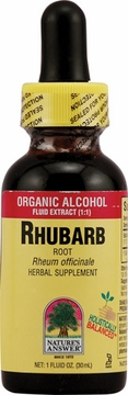 Rhubarb Root by Nature's Answer - 1oz.