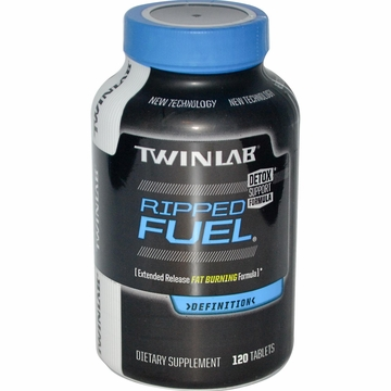 Twinlab Ripped Fuel Extended Release Fat Burning Formula - 120 Tablets