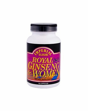 Royal Ginseng for Women by Imperial Elixir Ginseng - 90 Capsules