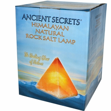 Salt Lamp Pyramid by Ancient Secrets - 7-9 lbs.